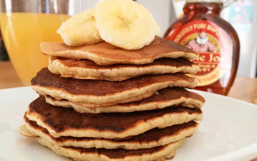 Dimanche douceur avec des pancakes